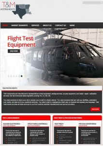T&M Instruments are manufacturer's representatives of test equipment, testing services, & process equipment in Houston, Texas. We designed new website with password protected section, created new logo, SEO Keyword Template, Email Campaigns. Our efforts doubled website traffic and quadrupled inbound web leads per month.