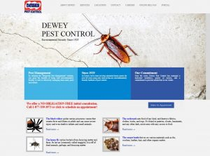 Old Website: Dewey Pest Control