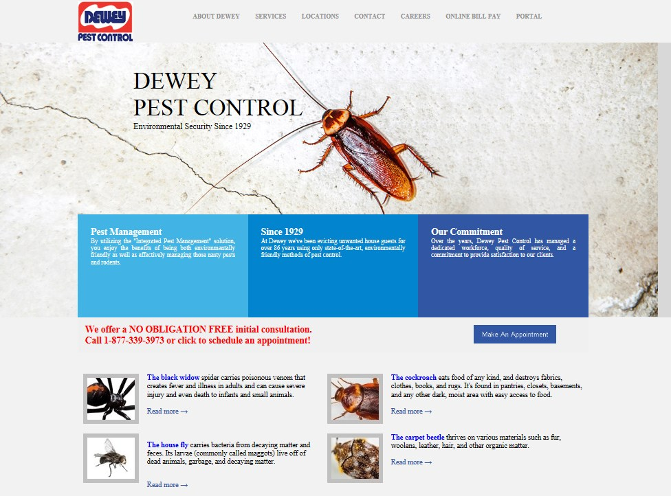 Pests Dewey Pest Control