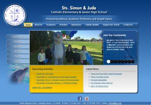 Old site: SSJ Catholic School