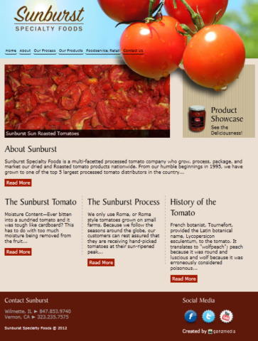 From their humble beginnings in 1995, they have grown to one of the top 5 largest processed tomato distributors in the country.